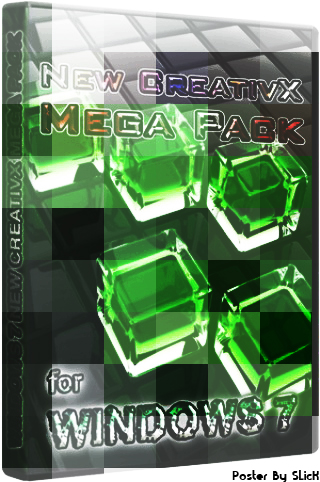 Themes For Windows 7 New CreativX Mega Pack (2010) (x86/x64)
