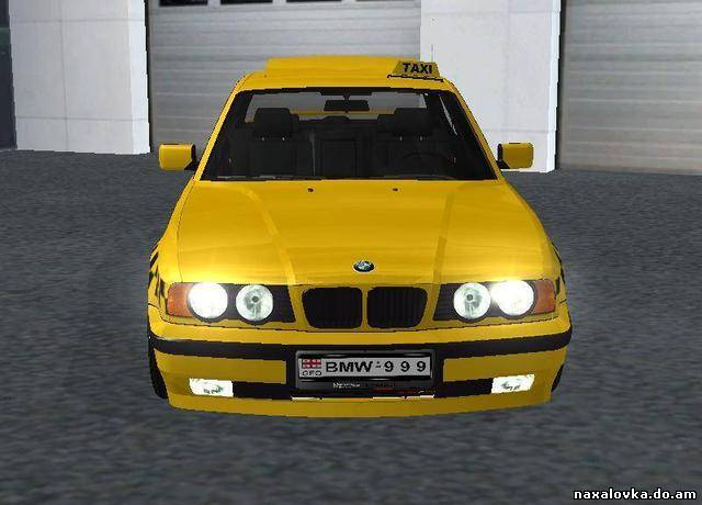 bmw taxi for gta san andreas