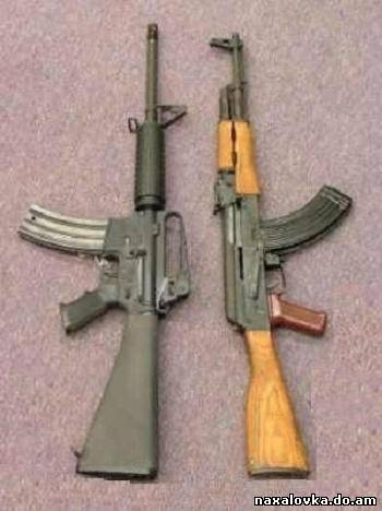 ak47 vs M16Red