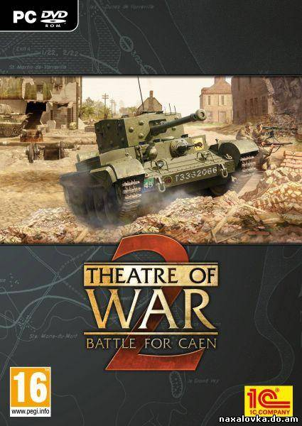 Theatre Of War 2: Battle For Caen (2010/ENG/Add-On) SKIDROW