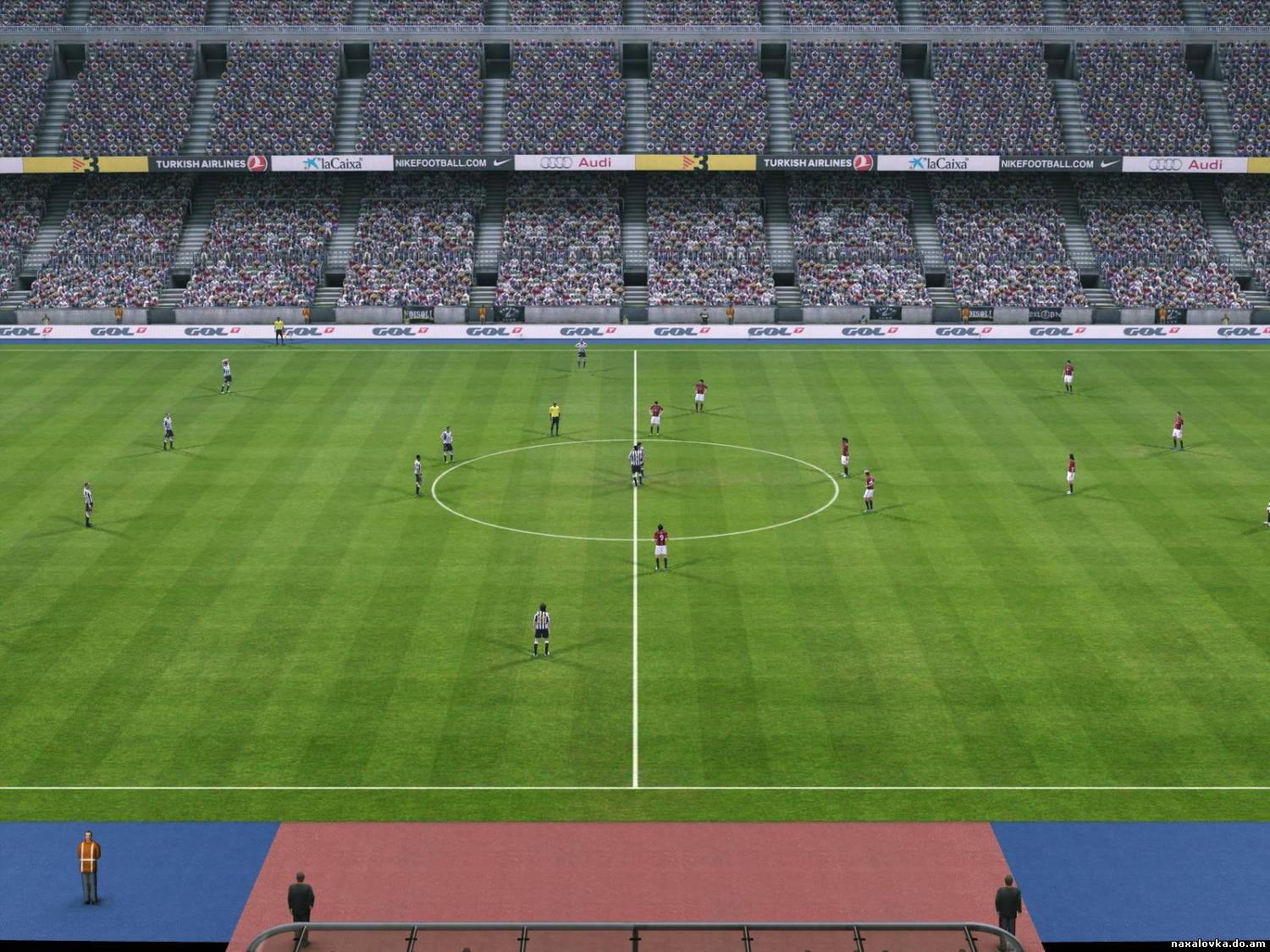 PES 2011 Camp Nou HD Turf