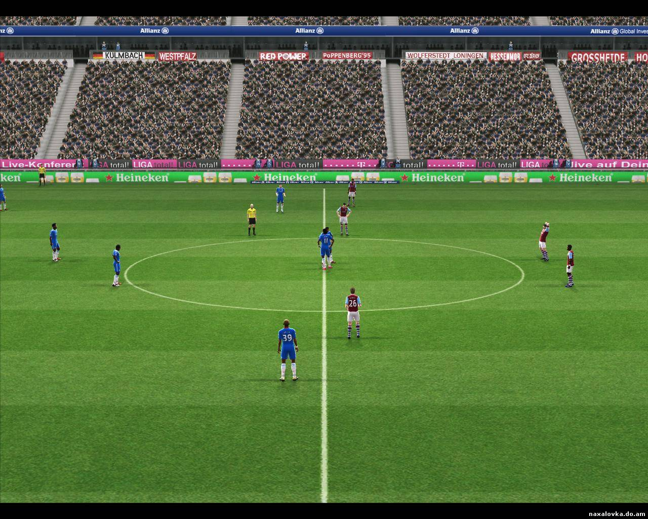 PES 2011 Allians Arena HD/Stadium
