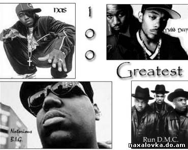 Various Artists - 100 Greatest Hip-Hop Songs
