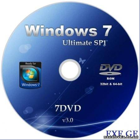 Windows 7 Ultimate SP1 32-bit by 7DVD v3.0 [2011/RUS]